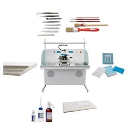 Аксесуари для мікротомії та мікроскопії