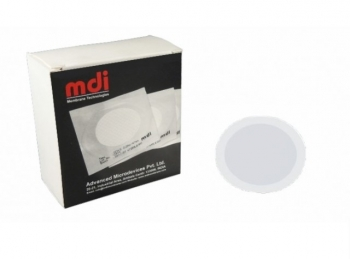 Фільтр мембранний дисковий з гідрофобним краєм