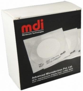 Фільтр дисковий, попередньо стерилізований, із мембраною з нітрату целюлози