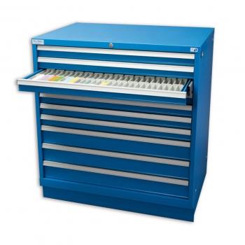 Архів синій на 10 шухляд 134.000 слайдів, 1 шт.