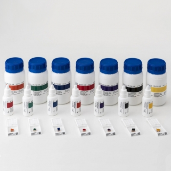 Барвники для маркування тканин Bio Marking Dyes 8 флаконів по 30 мл, фіолетові