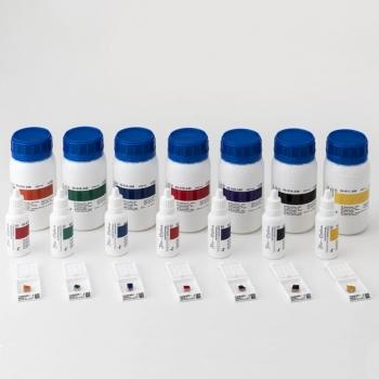 Барвники для маркування тканин Bio Marking Dyes 8 флаконів по 30 мл, зелені