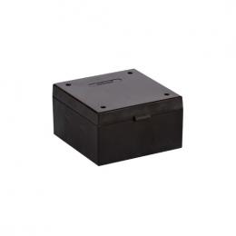 Cryo Boxes, PP, black, grid 9 x 9, 133 x 133 x 52 mm