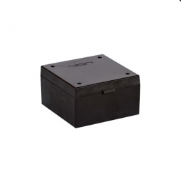 Cryo Boxes, PP, black, grid 9 x 9, 133 x 133 x 75 mm