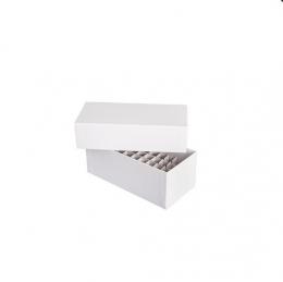 ratiolab® 1/2-format grid, cardboard, 5 x 10, 124 x 58 x 30 mm