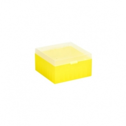 Cryo Boxes, PP, natural, without grid, 133 x 133 x 52 mm
