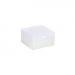 Cryo Boxes, PP, natural, without grid, 133 x 133 x 75 mm