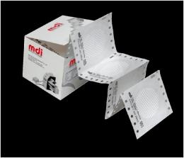 Фільтр мембранний дисковий із сіткою у стрічці, нітрат целюлози