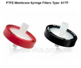 Фільтр шприцевий гідрофобний, корпус із поліпропілену, тип SYTF