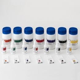 Барвники для маркування тканин Bio Marking Dyes 8 флаконів по 30 мл, червоні