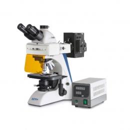 Мікроскоп KERN OBN-141, тринокуляр, флуоресцентний для професійного користувача