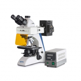 Мікроскоп KERN OBN-148, тринокуляр, флуоресцентний для професійного користувача