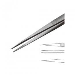 Пінцет для мікроскопії сталевий із загостреними кінцями для слайдів