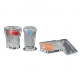 Скляна посудина Коплін з люком для фарбування