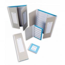 Слайд-лоток картонний із кришкою і роздільниками, для 20 слайдів, 1 шт.